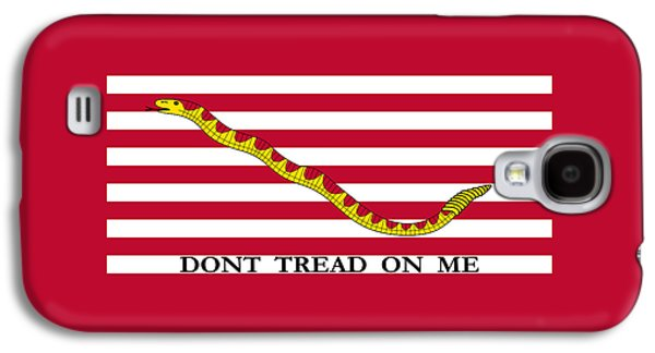 Revolutionary War Mixed Media Galaxy S4 Cases - First Navy Jack Galaxy S4 Case by War Is Hell Store