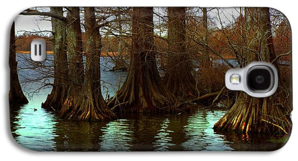 First Rays At Reelfoot Galaxy S4 Case by Julie Dant