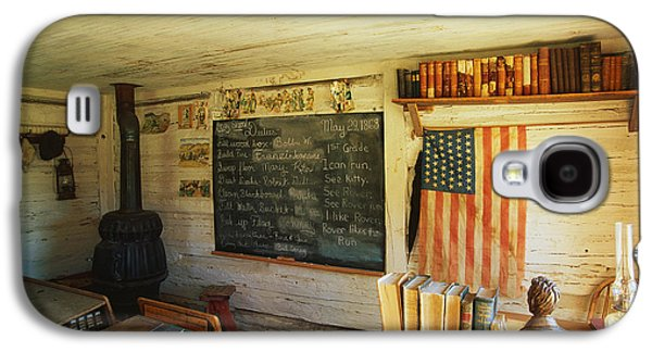 First School In Montana Galaxy S4 Case by Panoramic Images