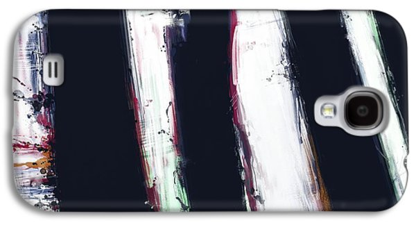 Loose Style Digital Art Galaxy S4 Cases - First shadow Galaxy S4 Case by Keith Mills