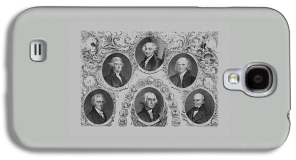 Thomas Jefferson Galaxy S4 Cases - First Six U.S. Presidents Galaxy S4 Case by War Is Hell Store