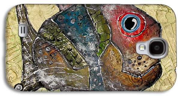 Abstract Forms Galaxy S4 Cases - Fish 1269 Galaxy S4 Case by Marek Lutek