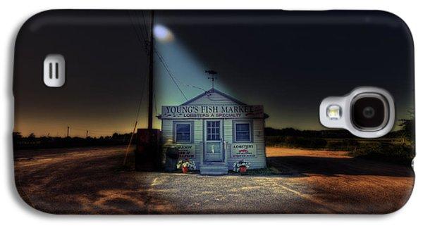 Fish Market Cape Cod Galaxy S4 Case by Dapixara Art