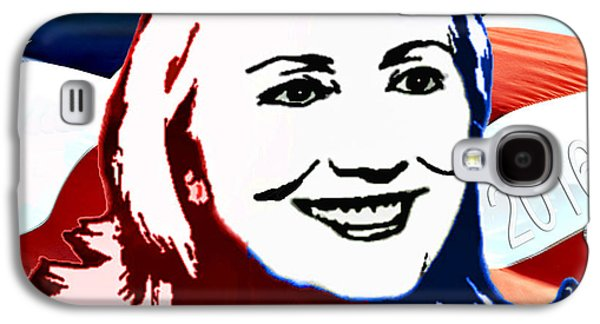 First Lady Galaxy S4 Cases - Flag of Hillary Galaxy S4 Case by Jost Houk