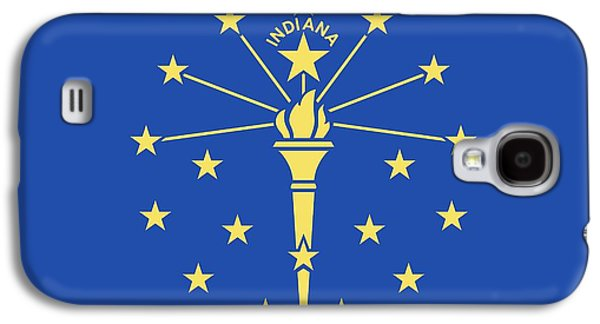 Flag Of Indiana Galaxy S4 Case by American School