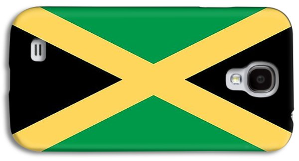 Flag Paintings Galaxy S4 Cases - Flag of Jamaica Galaxy S4 Case by Unknown