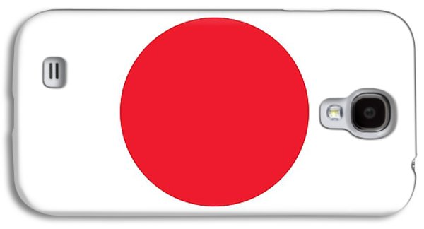 Flag Paintings Galaxy S4 Cases - Flag of Japan Galaxy S4 Case by Japanese School