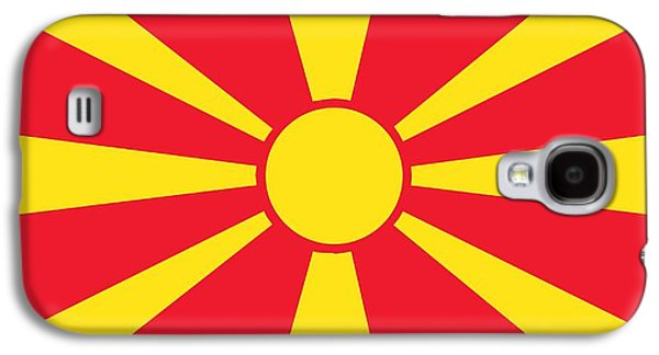 Flag Of Macedonia Galaxy S4 Case by Unknown