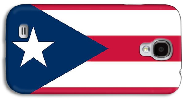 Puerto Rico Galaxy S4 Cases - Flag of Puerto Rico Galaxy S4 Case by Unknown