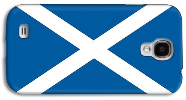 Scotland Paintings Galaxy S4 Cases - Flag of Scotland Galaxy S4 Case by Unknown