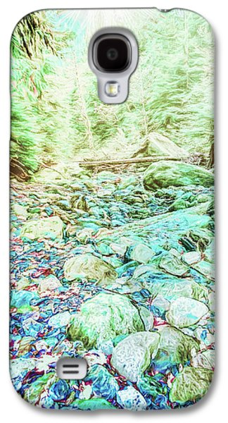 Landscapes Photographs Galaxy S4 Cases - Fleeting Light Galaxy S4 Case by Jean OKeeffe Macro Abundance Art