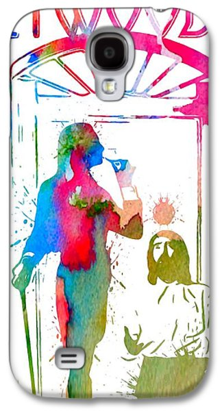 Fleetwood Mac Album Cover Watercolor Galaxy S4 Case by Dan Sproul