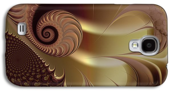 Abstract Digital Galaxy S4 Cases - Flesh Galaxy S4 Case by Vicky Brago-Mitchell