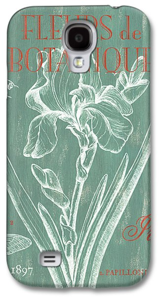 Pen And Ink Drawing Drawings Galaxy S4 Cases - Fleurs de Botanique Galaxy S4 Case by Debbie DeWitt