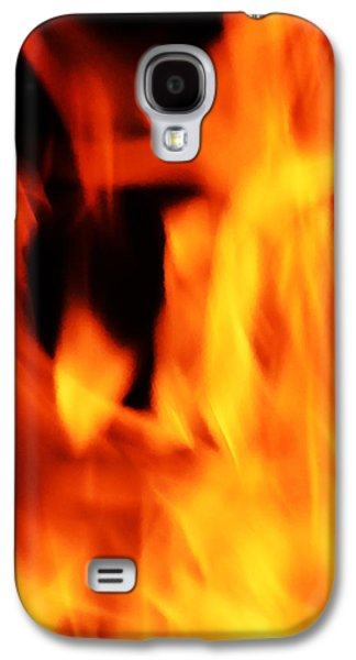 Abstract Movement Galaxy S4 Cases - Flight of the Phoenix Galaxy S4 Case by Richard Andrews