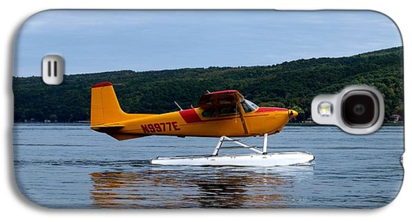 Keuka Galaxy S4 Cases - Float Plane Two Galaxy S4 Case by Joshua House