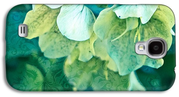 Botanical Galaxy S4 Cases - Floral Brocade Galaxy S4 Case by Colleen Kammerer