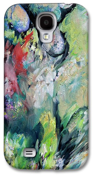 Dreamscape Galaxy S4 Cases - Floral Enchantment Galaxy S4 Case by Rachel Christine Nowicki