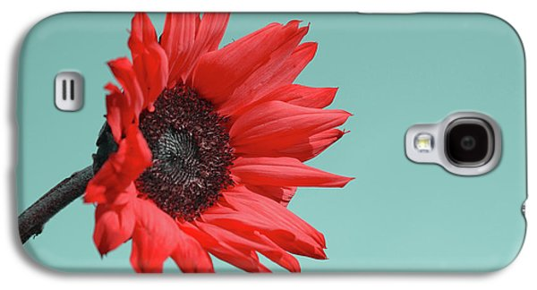 Red Photographs Galaxy S4 Cases - Floral Energy Galaxy S4 Case by Aimelle