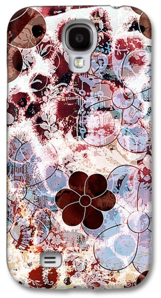 Wine Deco Art Galaxy S4 Cases - Floral Essence Galaxy S4 Case by Frank Tschakert