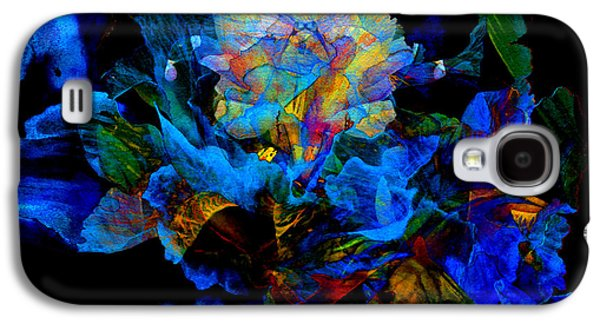 Artography Galaxy S4 Cases - Floral Phantom Galaxy S4 Case by Hanne Lore Koehler