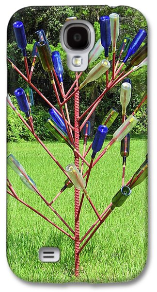 Landmarks Photographs Galaxy S4 Cases - Florida Bottle Tree Galaxy S4 Case by D Hackett