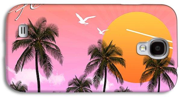 Animation Galaxy S4 Cases - Florida  Galaxy S4 Case by Mark Ashkenazi
