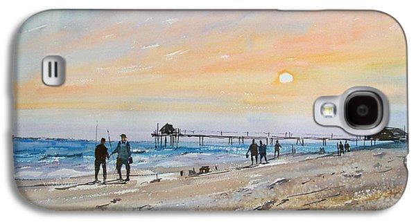 Beach Landscape Galaxy S4 Cases - Florida Sunset Galaxy S4 Case by Ryan Radke