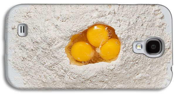 Mounds Galaxy S4 Cases - Flour and Eggs Galaxy S4 Case by Steve Gadomski