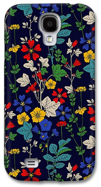 Flower Bed Galaxy S4 Case by Sholto Drumlanrig