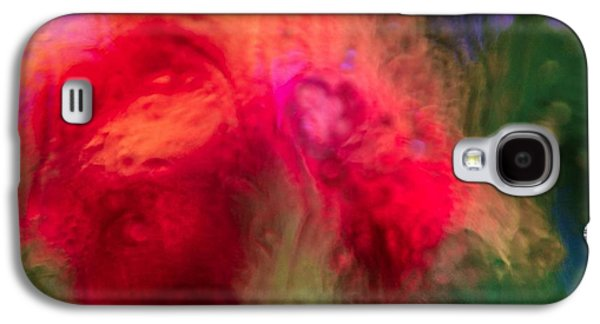 Nature Abstracts Galaxy S4 Cases - Flower Bomb Galaxy S4 Case by Abbie Loyd Kern