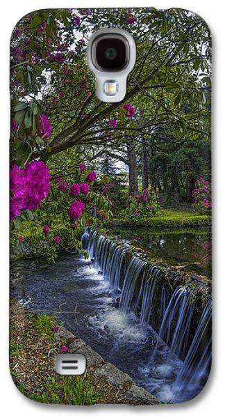 Botanical Galaxy S4 Cases - Flower Creek Galaxy S4 Case by Ian Mitchell