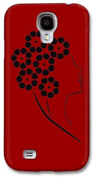 Flower Girl Galaxy S4 Case by Frank Tschakert