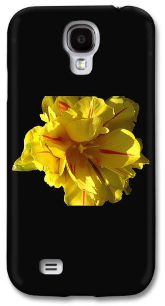 Sun Galaxy S4 Cases - Flower Power Galaxy S4 Case by Anna Fabro