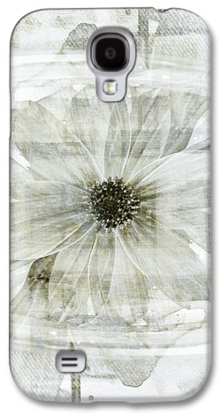 Flower Still Life Mixed Media Galaxy S4 Cases - Flower Reflection Galaxy S4 Case by Frank Tschakert