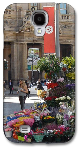 Studio Photographs Galaxy S4 Cases - Flower Stand in Milan Galaxy S4 Case by Joe  Geare