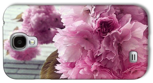 First Lady Galaxy S4 Cases - Flowers in the City Galaxy S4 Case by Katelyn Rose