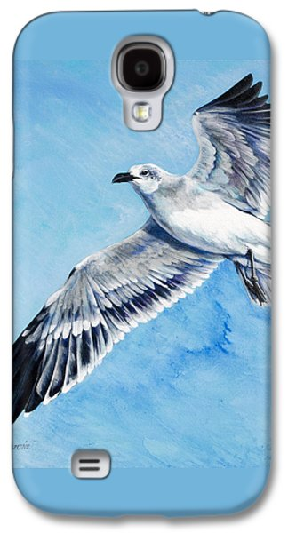 Flying Gull Galaxy S4 Case by Joan Garcia