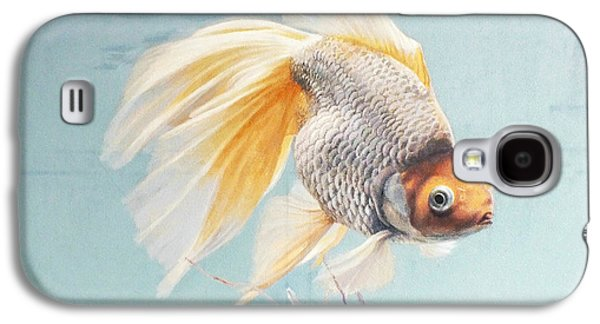 Flying In The Clouds Of Goldfish Galaxy S4 Case by Chen Baoyi