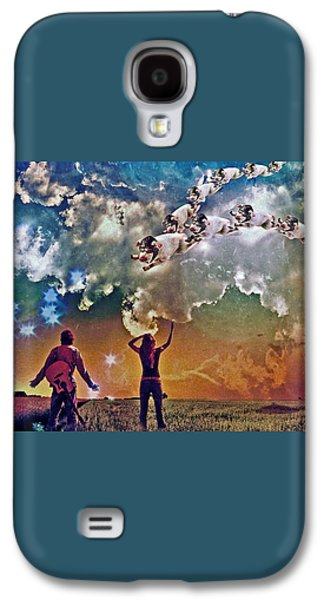 Flying Pigs Galaxy S4 Case by Marian Voicu