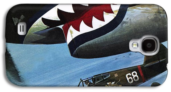 Flying Tigers Over Asia Galaxy S4 Case by Wilf Hardy