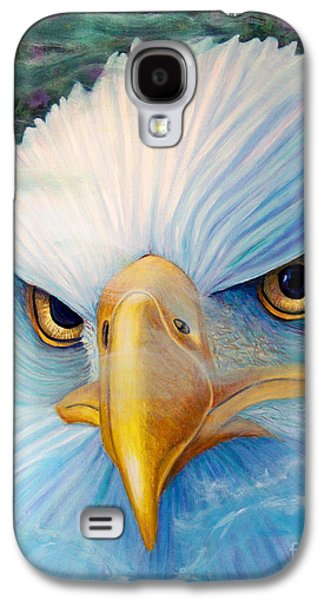 Eagle Paintings Galaxy S4 Cases - Focus Galaxy S4 Case by Brian  Commerford