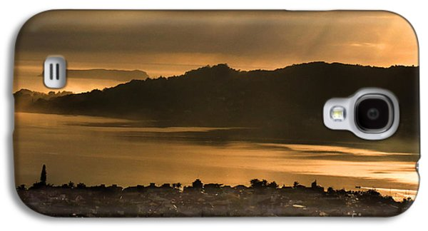 Transportation Tapestries - Textiles Galaxy S4 Cases - Fog in Florianopolis Galaxy S4 Case by James Hennis