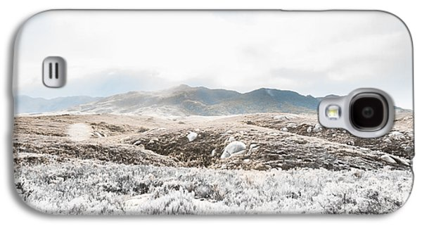 Fog Snow And Ice Landscape Galaxy S4 Case by Jorgo Photography - Wall Art Gallery