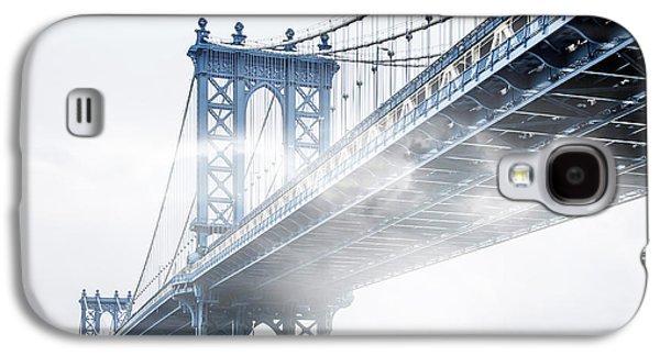 Fog Under The Manhattan Galaxy S4 Case by Az Jackson