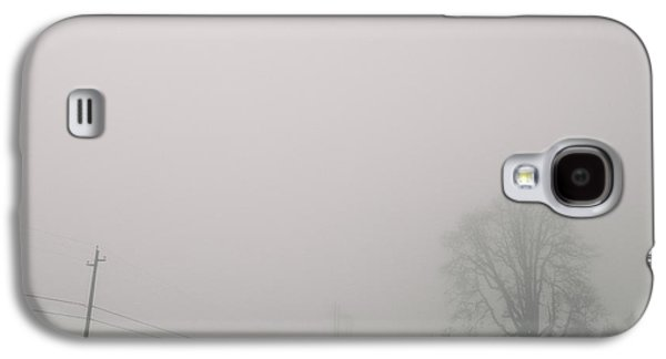 Contemplative Photographs Galaxy S4 Cases - Foggy lines Galaxy S4 Case by Kunal Mehra