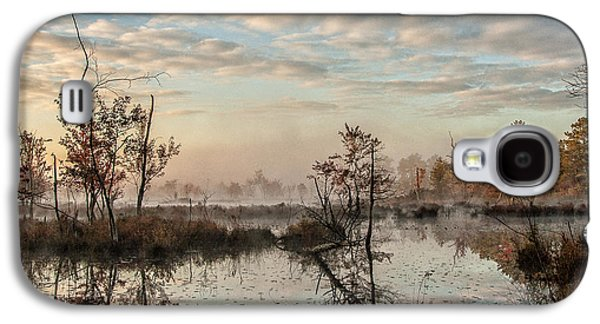 Foggy Morning In The Pines Galaxy S4 Case by Louis Dallara