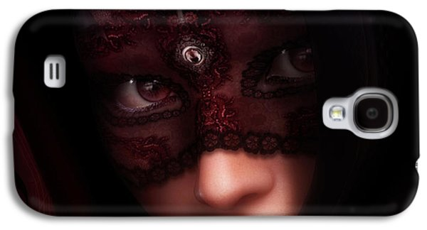 Make-up Galaxy S4 Cases - Follow Me Gothic Romance Galaxy S4 Case by Shanina Conway