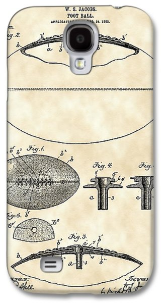 Pro Football Galaxy S4 Cases - Football Patent 1902 - Vintage Galaxy S4 Case by Stephen Younts