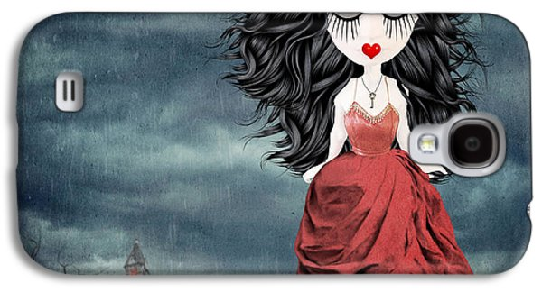 """""""haunted House"""" Galaxy S4 Cases - For Ever and Ever Galaxy S4 Case by Juli Scalzi"""